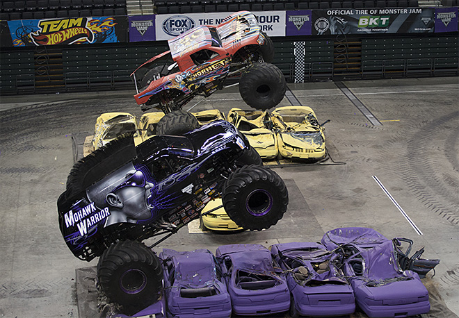 Monster Jam thrills fans at Matt Knight Arena - Oregon News Lab Photo