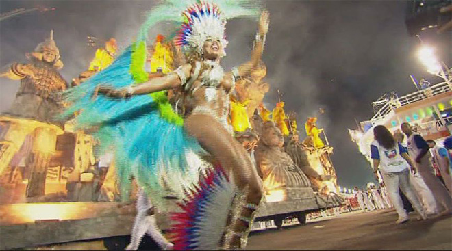 Mormon from Oregon dances samba in Rio (1)