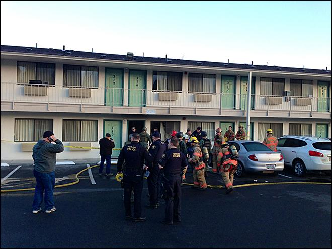 Man apprehended after 4-hour Motel 6 standoff