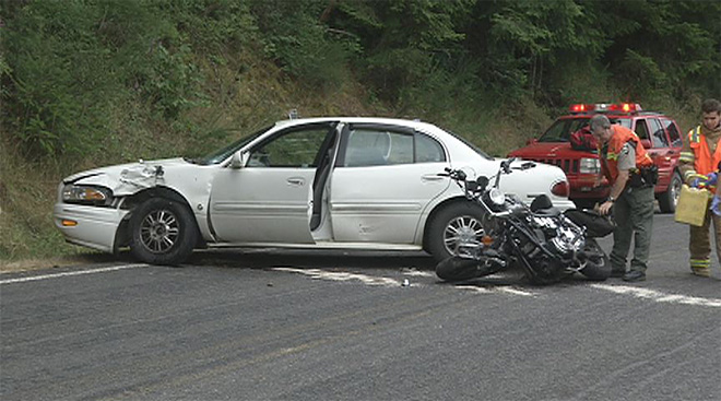 Motorcycle vs. Car