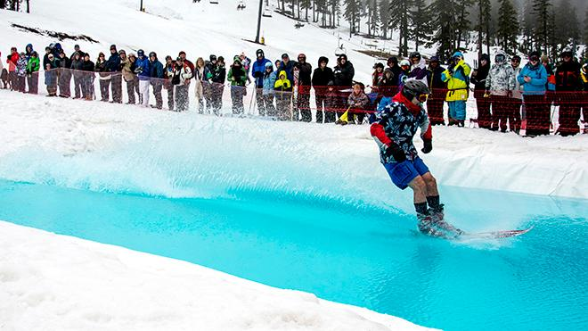 Mount Bachelor Pond Skimming (7)