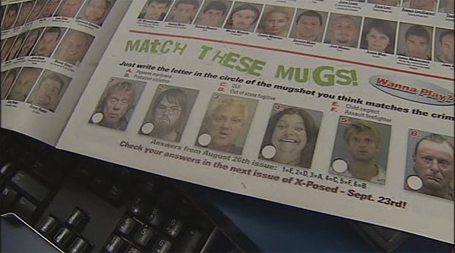Mugshot magazines and removal services