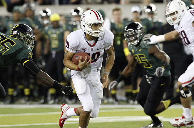 NCAA Arizona Oregon Football