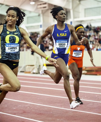 Hasay and Berry set school records at NCAA Indoors