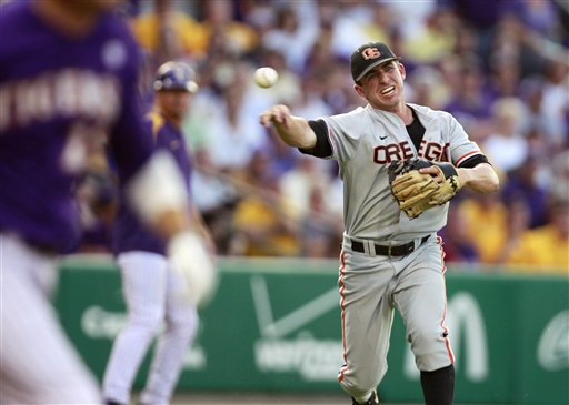 LSU's Gausman locks down Beavs, 7-1