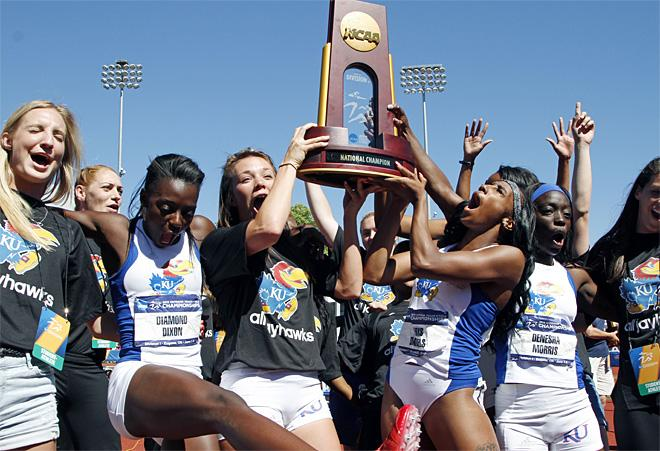 CORRECTION NCAA Track Championships Athletics