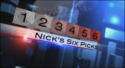 Nick's Six Picks: Touchdown, Touchdown, Touchdown