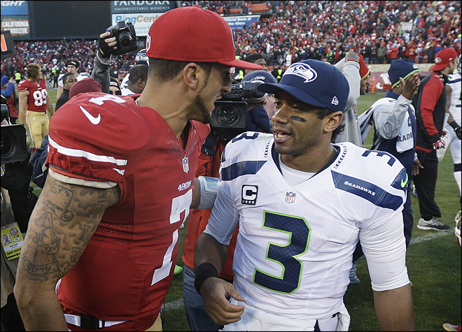 Seahawks, 49ers destined to meet in NFC Championship