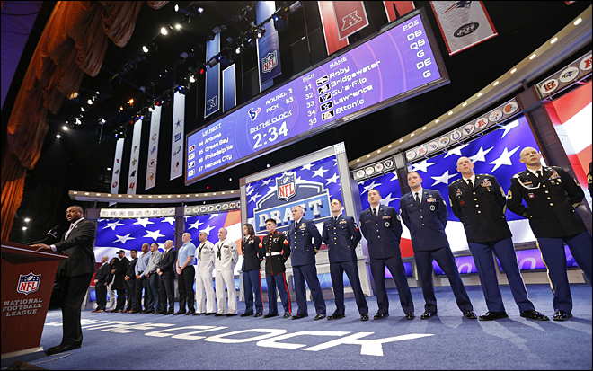 2014 NFL team-by-team draft picks