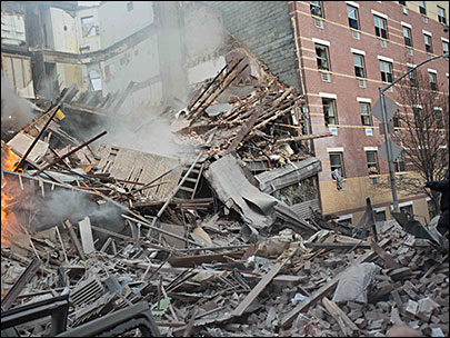 2 NYC buildings collapse; 2 dead, over a dozen missing