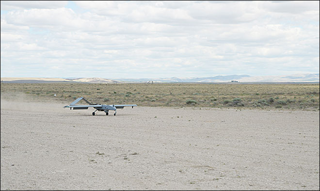 Military drone to fly over Oregon