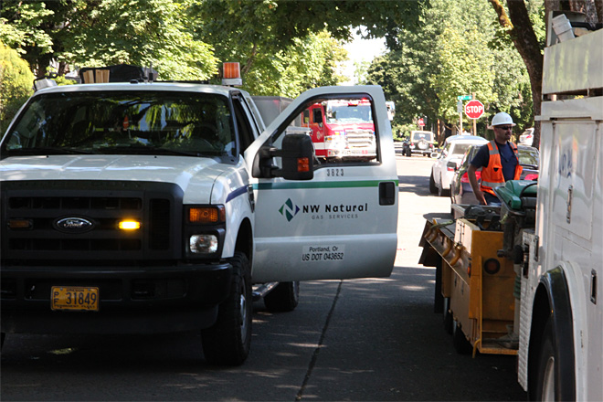 Natural gas leak near UO campus