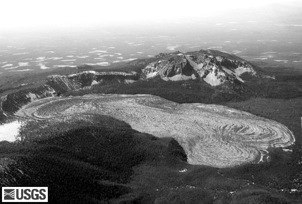 Newberry87_aerial_big_obsidian_flow_10-87_bw_med