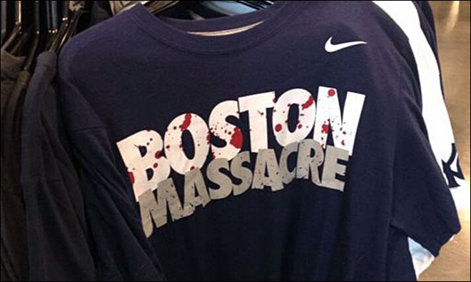 Nike yanks 'Boston Massacre' T-shirts in wake of bombing