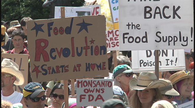 No GMO march in Eugene with millions against Monsanto worldwide01