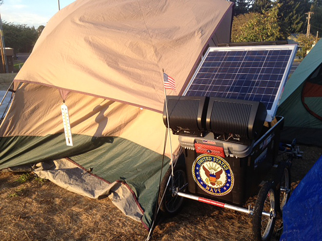 North Eugene SLEEPS camp closes after citation is issued 12 - Photo by Ty Steele