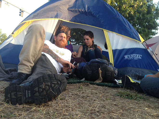 North Eugene SLEEPS camp closes after citation is issued 15 - Photo by Ty Steele