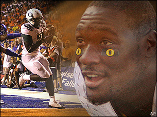 November 2009 Blount returns to Ducks