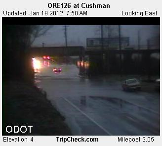 ODOT camera at Cushman