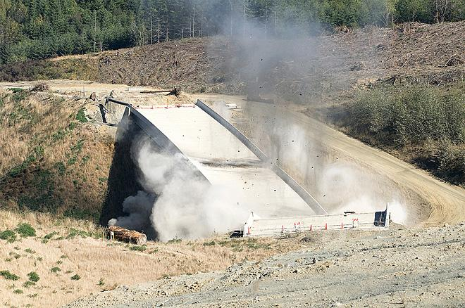 ODOT photo of demolition of Highway 20 bridge project September 2012 (8)