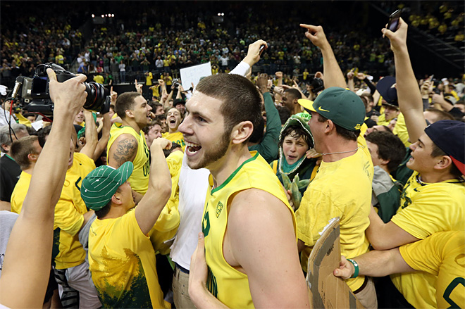 Oregon faces BYU in NCAA Final Four Tournament