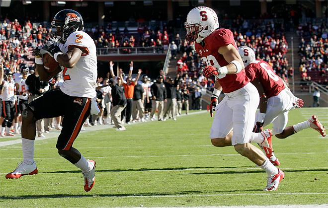 Oregon State Stanford Football