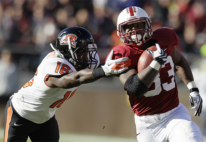 Stanford rallies past Beavers 27-23