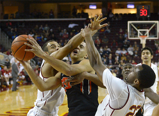 APTOPIX Oregon State USC Basketball