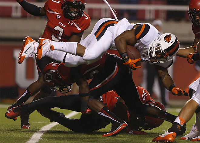 APTOPIX Oregon St Utah Football