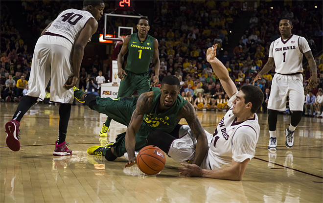 Oregon Arizona St Basketball