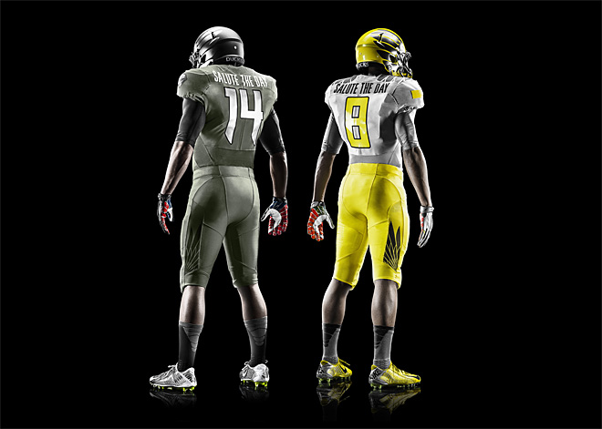 Oregon 2014 Spring Game Uniforms by Nike