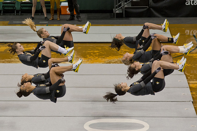 Oregon Acrobatics and Tumbling scores big in 2nd season meet (Photo bt Dan Morrison)
