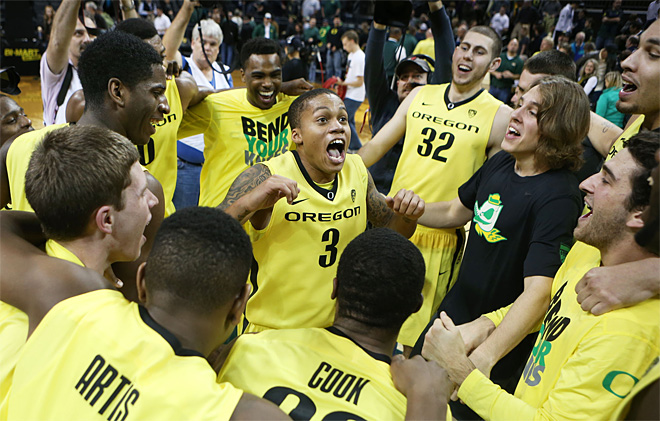 BYU Oregon Basketball