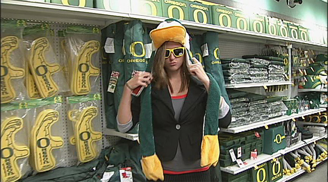 Birds of a feather shop together: Duck gear in demand