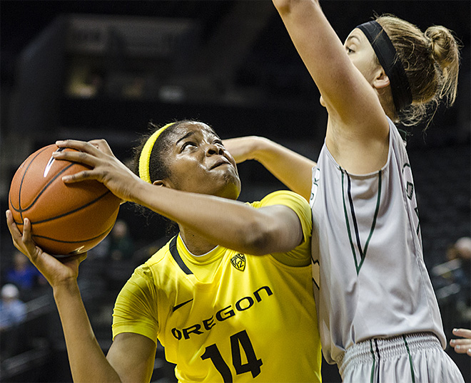 Oregon Ducks take on the Portland State Vikings25