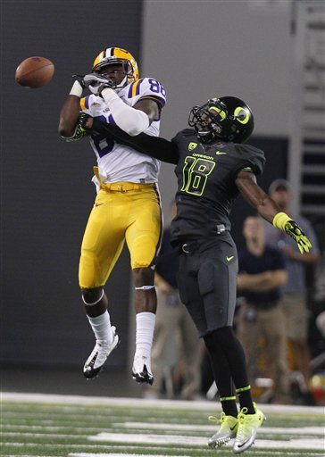 Oregon LSU Football