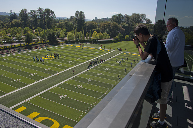 Oregon debuts new facility to media