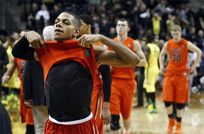 Oregon St Oregon Basketball