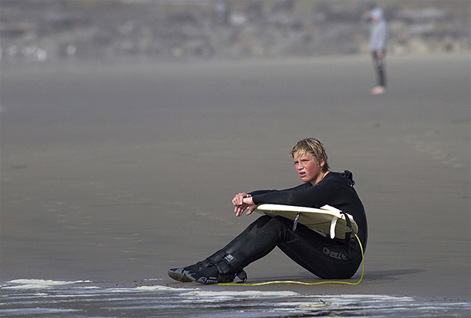 Oregon Outdoors surfing class in Newport (2)
