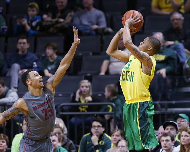 WSU Oregon Basketball