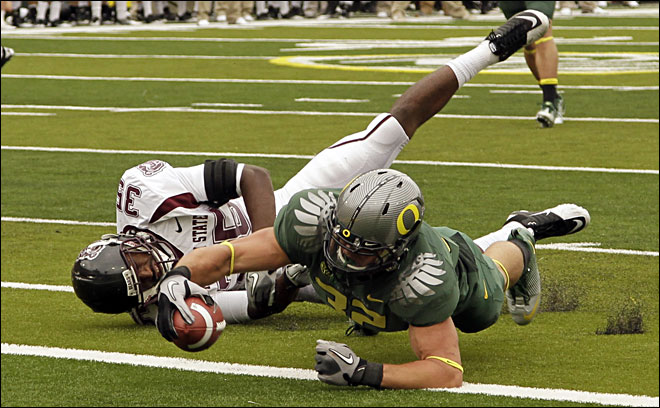 <br /><br />Oregon 56, Missouri State 7 &amp;gt;&amp;gt;&amp;gt; Story, Videos &amp;amp; Photos