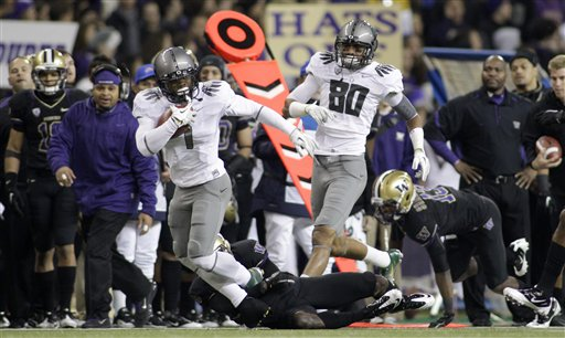 <br /><br />Oregon 34, Washington 17 &amp;gt;&amp;gt;&amp;gt; Story, Videos &amp;amp; Photos