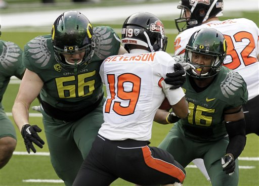 <br /><br />Oregon 49, Oregon State 21 &amp;gt;&amp;gt;&amp;gt; Story, Videos &amp;amp; Photos