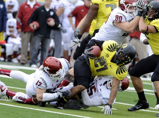 <br /><br />Oregon 43, Washington State 28 &amp;gt;&amp;gt;&amp;gt; Story, Videos &amp;amp; Photos