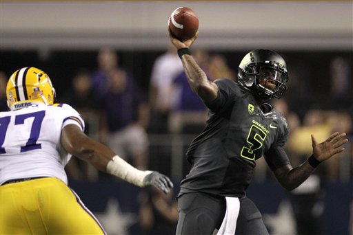 <br /><br />LSU 40, Oregon 27 &amp;gt;&amp;gt;&amp;gt; Story, Videos &amp;amp; Photos