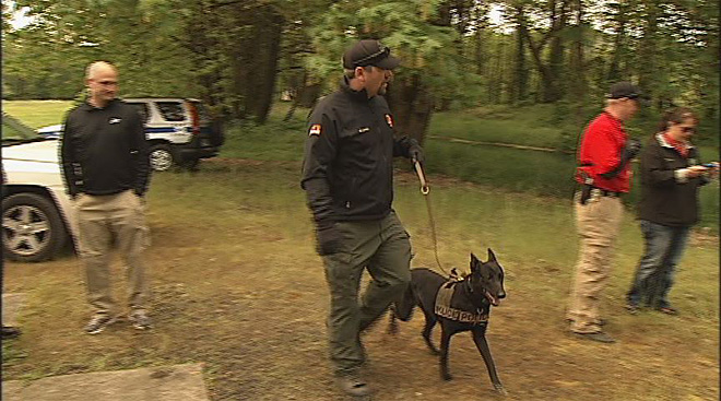 Oregon Police Canine Association training April 30 (3)