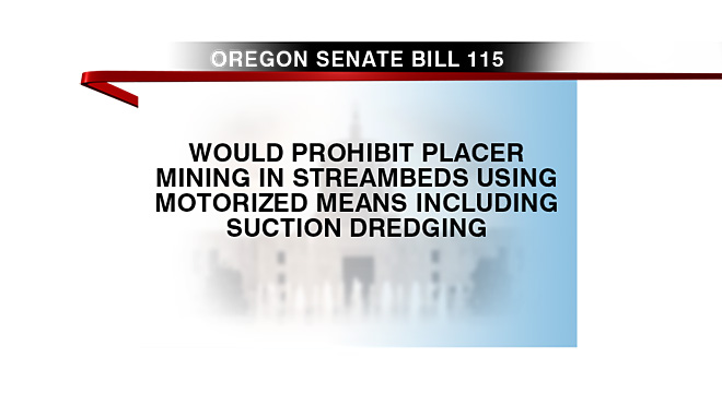 Oregon Senate bill 115