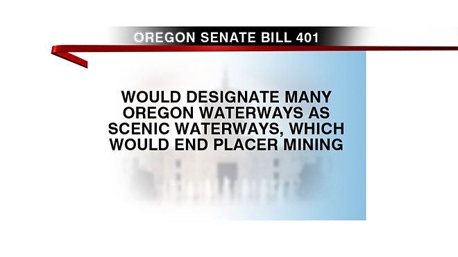 Oregon Senate bill 401