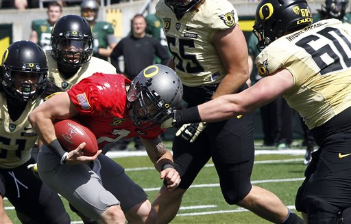 Oregon Spring Football