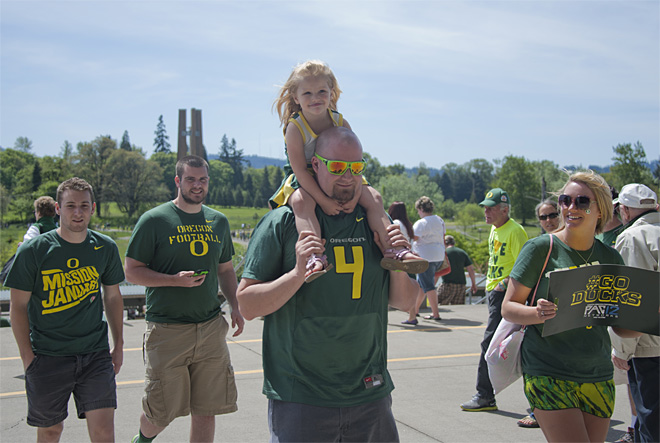 Oregon Spring Game 2013 58 Photo by Tristan Fortsch